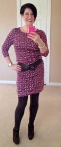 Retro pink tunic