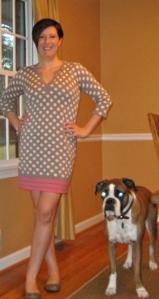 Boden Chic Spotty Tunic