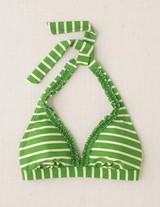 Ruffle Bikini Apple Stripe