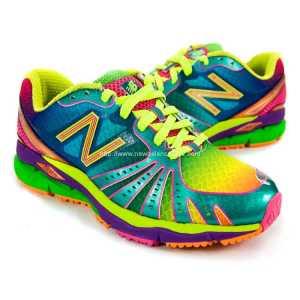 new balance 890 rainbow running shoes