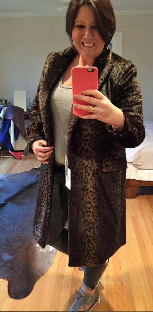 carinne roitfeld for Uniqlo coat