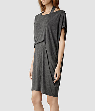 Pari dress grey