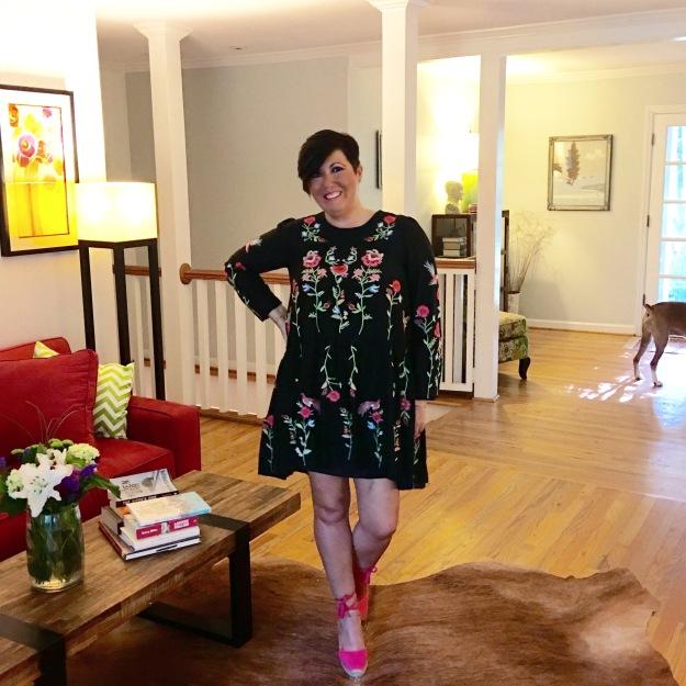 Zara dress, Castaner espadrilles