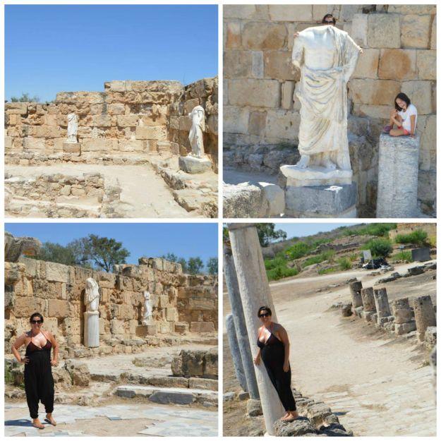Salamis collage