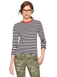 Gap striped jumper navy