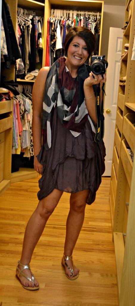 Avenue57 plum dress