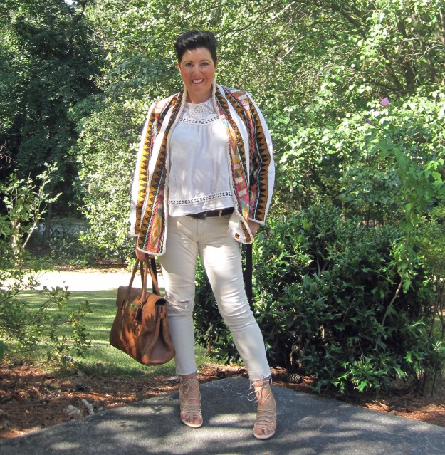 Mulberry bayswater, white jeans, Georgia, summer, summer style