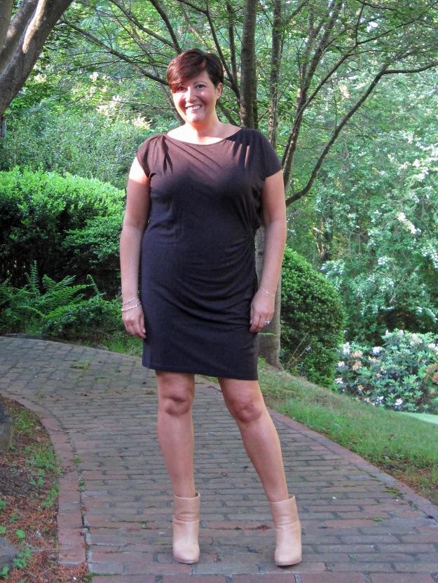 AllSaints relian dress, newbury boots, Rag & Bone