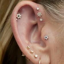 Cartilage piercong