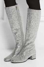 YSL knee boot
