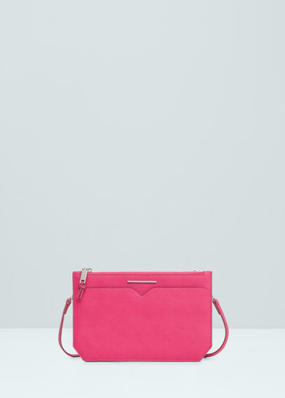 Mango pink double compartment