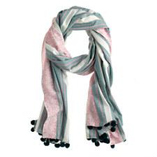 jade and pinck scarf