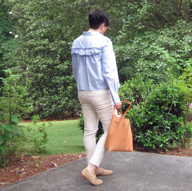 H&M shirt back