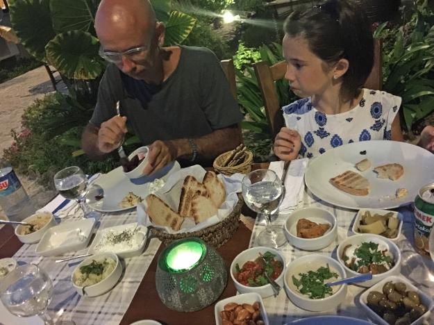 Dinner mezze