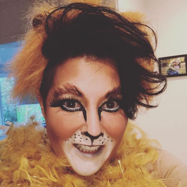 #cecilthelion is ready for some revenge #halloween