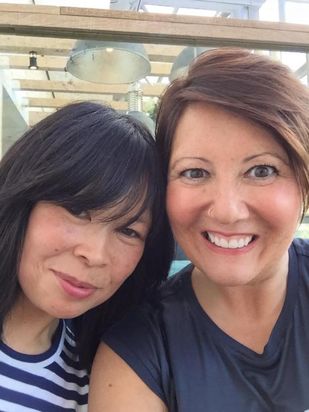 Sue and Joanna