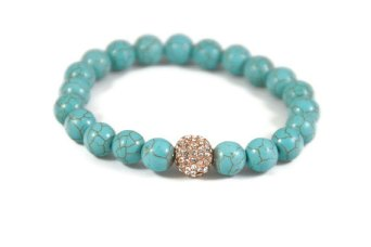 turquoise pave