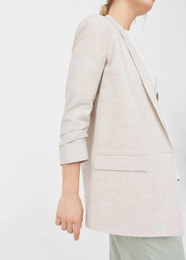 Mango linen jacket