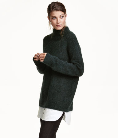 maohair shirt sweater