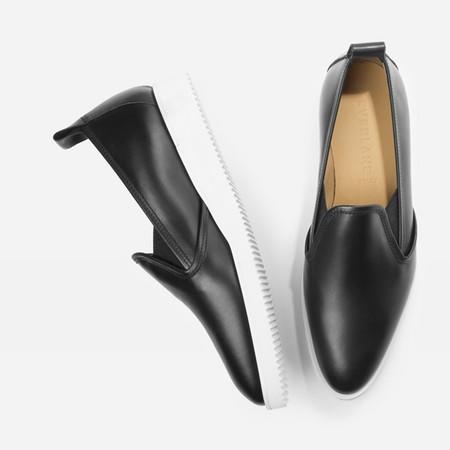 black street shoe