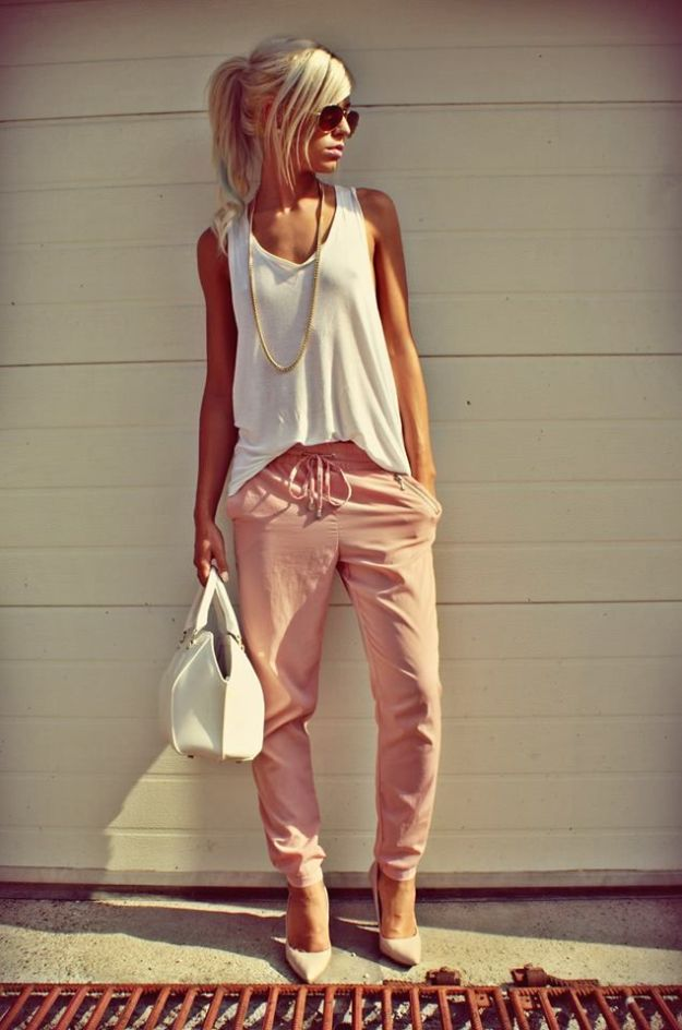 pink trousers 5