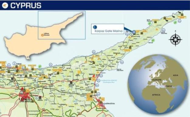 Cyprus Map 34
