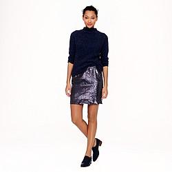 jcrew sequin skirt