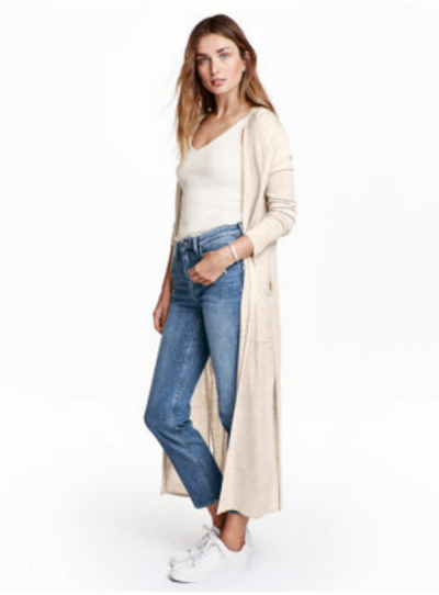 H&M ankle length cardigan